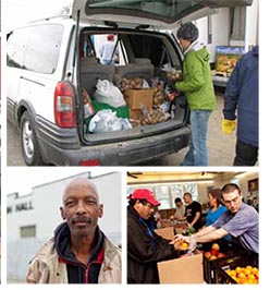 Mobile Food Pantry at Avondale East NET Center