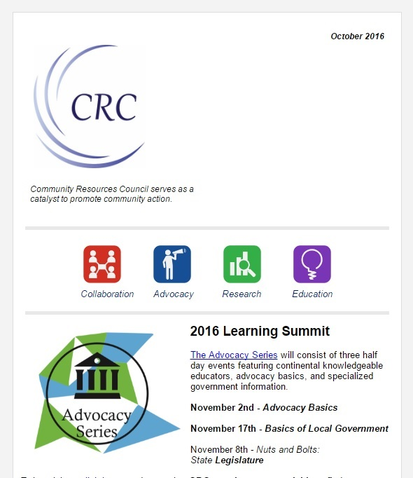 Attention All CRC Members – October Newsletter