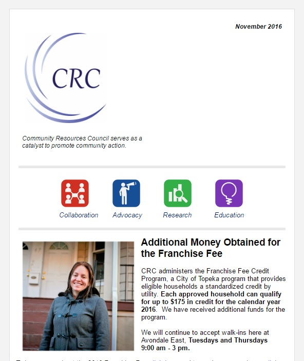 Additional Money Obtained for the Franchise Fee – November Newsletter