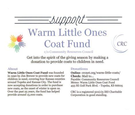 Warm Little Ones Coat Fund