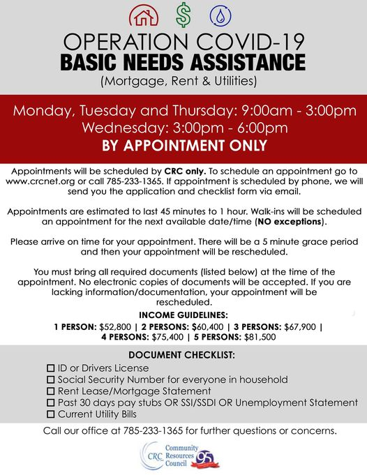 Operation COVID-19 Basic Needs Assistance Program
