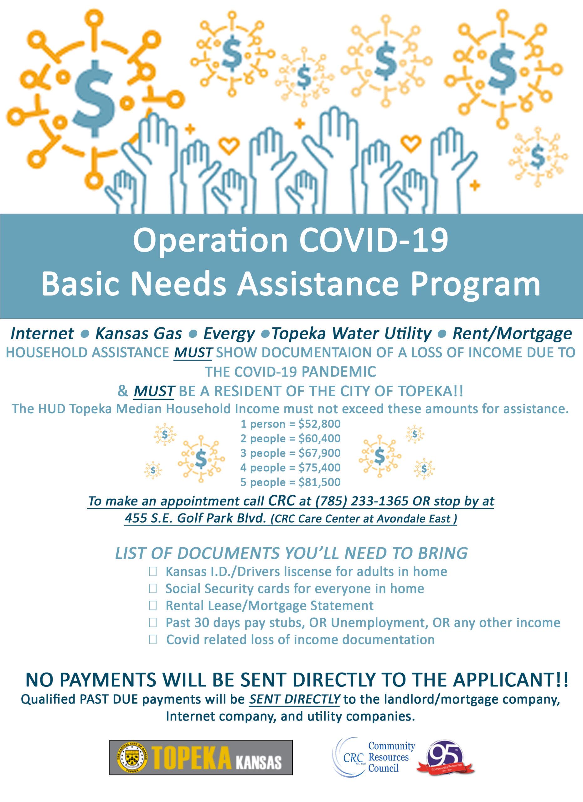 Operation COVID-19 Basic Needs Assistance Program